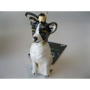 NEW Chihuahua Dog Glass Christmas Ornament